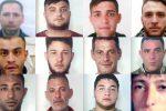 Colpo allo spaccio di droga nelle piazze di Catania, tra i pusher anche un ragazzino di 14 anni - Nomi e foto