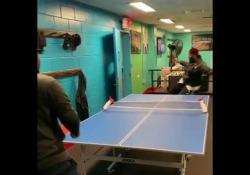 Ping pong: ecco la racchetta con i piedi Luc Menard è un freestyler americano che sui social posta video curiosi - Dalla Rete