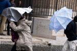 Maltempo, pioggia e vento forte sulla Calabria: domani allerta arancione