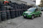 Castiglione Cosentino, smaltimento di pneumatici non autorizzato: una denuncia