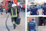 Minaccia di farsi esplodere dopo il taglio dell'acqua: panico nella baraccopoli di Messina