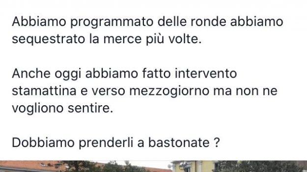 abusivismo, ambulanti, Cateno De Luca, Messina, Sicilia, Politica
