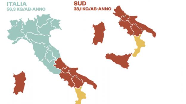 raccolta differenziata, rifiuti, Calabria, Economia