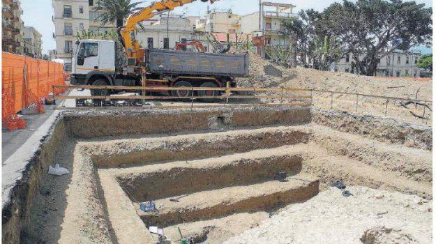 archeologia, piazza garibaldi, Reggio, Calabria, Cultura