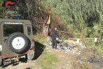 Rifiuti bruciati illegalmente, denunciati amministratore e dipendente di un'impresa a Cosenza