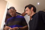 Fabio Rovazzi e lo sketch con Will Smith: il video dell'incontro con l'attore