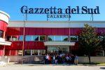 """Gli studenti del """"Lopiano"""" di Cetraro in visita alla Gazzetta"""