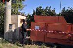 Crosia, sequestrato un impianto di lavaggio inerti: denunciato un uomo