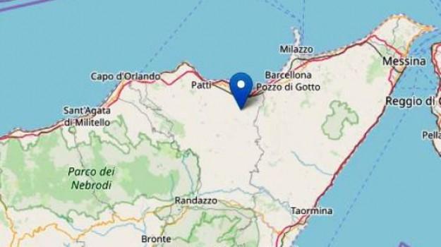 basicò, terremoto, Messina, Sicilia, Cronaca