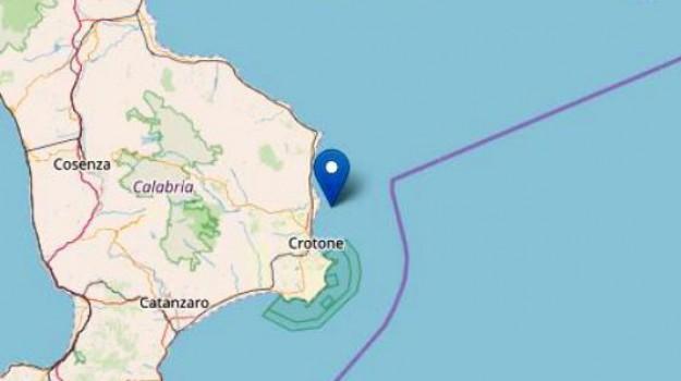 crotone, terremoto, Catanzaro, Calabria, Cronaca