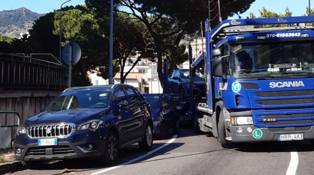 traffico messina, Messina, Sicilia, Cronaca
