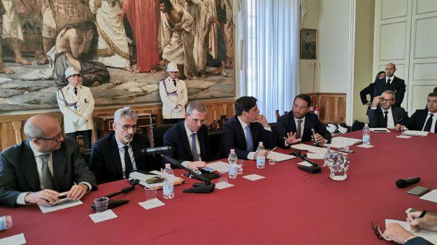 governo, infrastrutture, Ragusa-Catania, Giancarlo Cancelleri, Giuseppe Cassì, marco falcone, massimo simonini, Salvo Pogliese, Sicilia, Economia