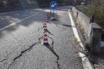 La strada provinciale 531 Mirto-Caloveto è a rischio crollo - Foto