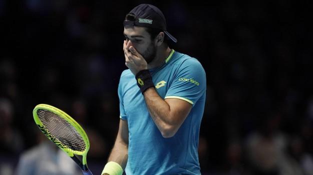 Atp Finals, tennis, Matteo Berrettini, Roger Federer, Sicilia, Sport