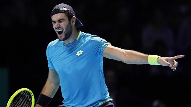 Atp Finals, tennis, Dominic Thiem, Matteo Berrettini, Sicilia, Sport