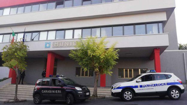 arresto Saracena, Minacce al sindaco, sindaco Saracena, Luca Primicerio, Pietro Vecchione, Renato Pugliese, Renzo Russo, Cosenza, Calabria, Cronaca