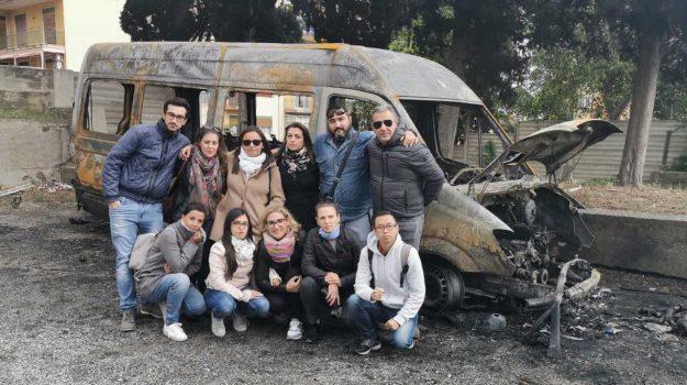 Discover Messina, incendio, Messina, Sicilia, Cronaca