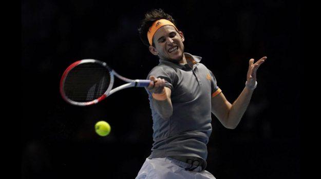 Atp Finals, tennis, Dominic Thiem, Stefanos Tsistisipas, Sicilia, Sport