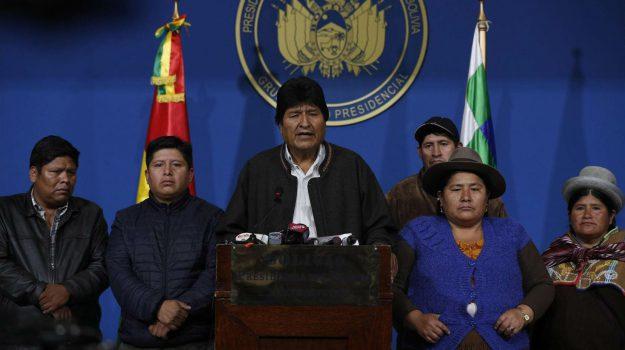 bolivia, Evo Morales, Sicilia, Mondo