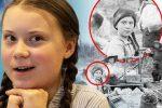 """Greta, spunta sosia in una foto del 1898: """"Giunta dal passato per annunciare la fine del mondo?"""""""