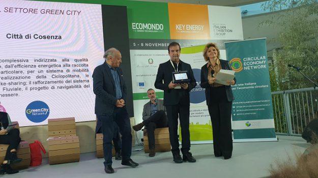 ecologia, Green City, premio Cosenza, Mario Occhiuto, Cosenza, Calabria, Società