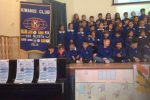 Una scuola libera dalla plastica, l'iniziativa del Kiwanis club di Vibo