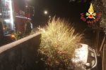 Incidente a Catanzaro nella notte, ferito il conducente