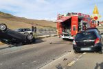 Incidente all'ingresso del campus universitario a Catanzaro, due feriti - Foto