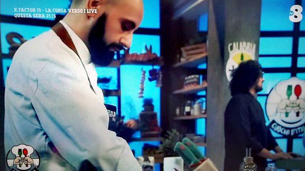 """Da Acri a """"Cuochi d'Italia"""", Ivan Zanfino in tv alla corte di Alessandro Borghese"""