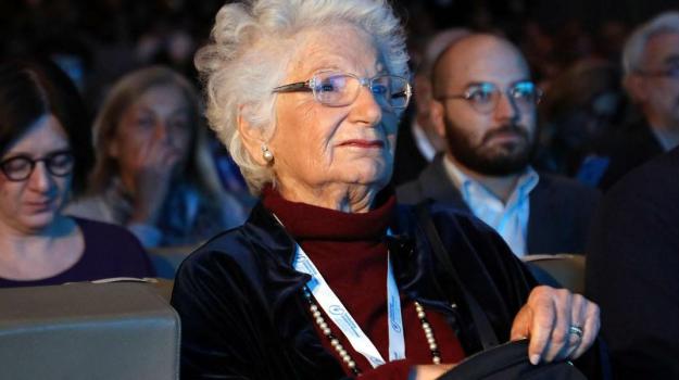 piraino, Liliana Segre, Messina, Sicilia, Politica