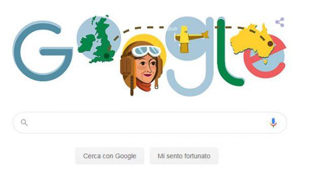 aviatrice, doodle, google, Maude