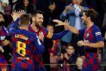 Liga, Barcellona a valanga sul Celta Vigo grazie a super Messi - Video