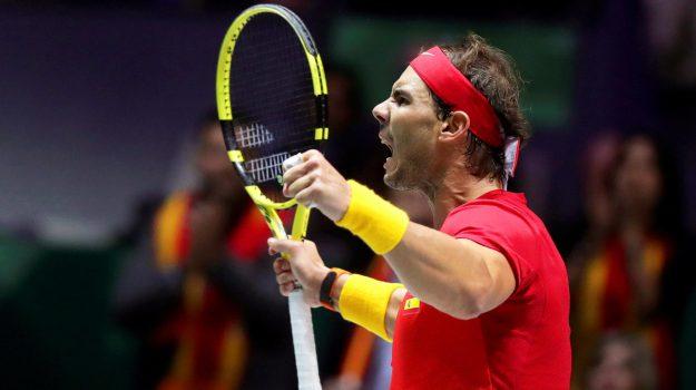 coppa davis, tennis, Rafael Nadal, Sicilia, Sport