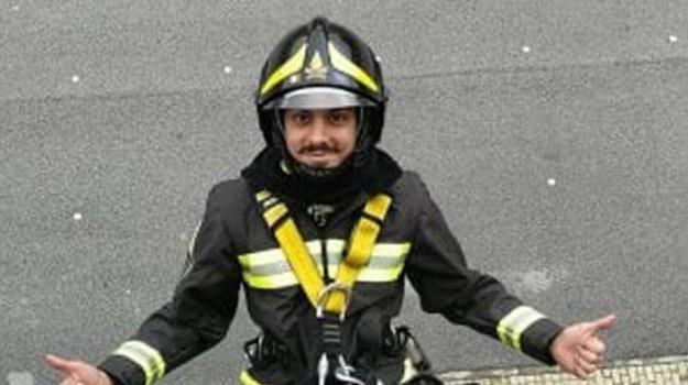 esplosione, vigili del fuoco, Nino Candido, Reggio, Calabria, Cronaca