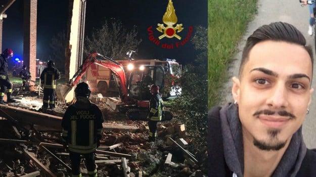 esplosione, vigili del fuoco, Marco Triches, Matteo Gastaldo, Nino Candido, Sicilia, Cronaca
