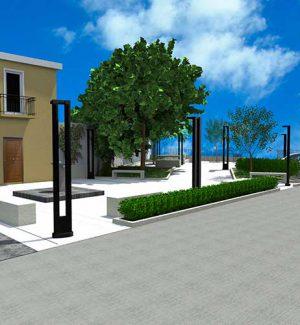 Reggio, riqualificazione di piazza Fontana a Ravagnese: via libera al progetto esecutivo