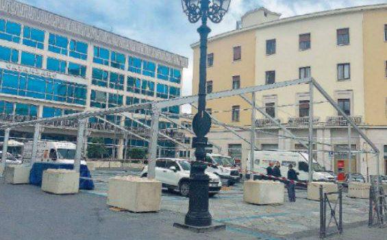 parcheggi, presepe, viabilità, Catanzaro, Calabria, Cronaca