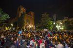 """""""Cosenza non si lega"""", centinaia di sardine in piazza da tutta la Calabria: presente anche Brunori Sas - Foto"""
