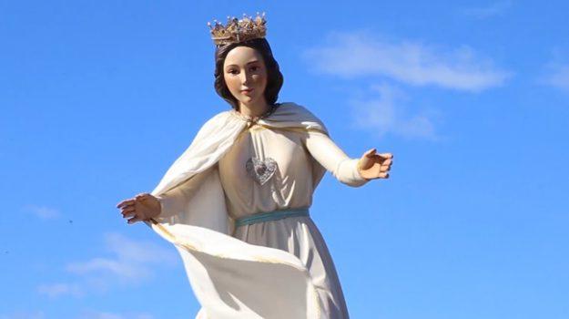 paravati, processione Mileto, Statua della Madonna, natuzza evolo, Catanzaro, Calabria, Società