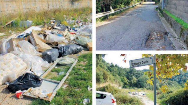 rifiuti, strade dissestate, Catanzaro, Calabria, Cronaca