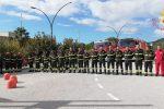 Lamezia Terme, i vigili del fuoco omaggiano i colleghi morti ad Alessandria