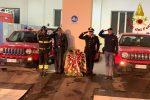 A Cosenza omaggio ai vigili del fuoco caduti in servizio ad Alessandria - Video