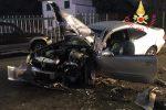 Incidente frontale a Catanzaro, grave un ragazzo di 24 anni