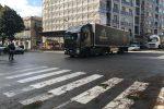 Maltempo a Messina: tir fermi agli imbarcaderi pronti a ripartire, Eolie isolate da tre giorni