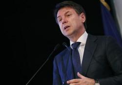 Alitalia, Conte: «Oltre alla soluzione di mercato valutiamo anche alternative» Il premier Giuseppe Conte sul futuro della «compagnia di bandiera» a margine dell'evento Aci a Roma - Ansa