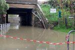 Esondato il torrente Marevitano tra Falerna e Nocera Terinese - Foto