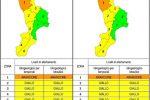 Meteo, maltempo con piogge e venti forti in Calabria e Sicilia: allerta arancione nel Cosentino