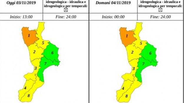 allerta meteo, maltempo, meteo calabria, previsioni meteo, Sicilia, Meteo