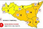 Maltempo a Messina, vento e forti piogge: è allerta arancione