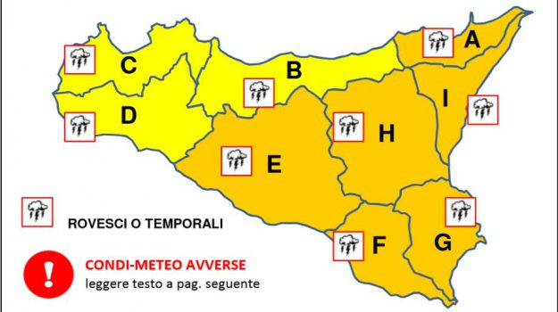 allerta meteo, maltempo messina, Messina, Sicilia, Meteo